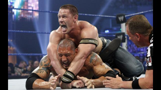 Batista Claims John Cena The greatest rivalries in full match in wwe