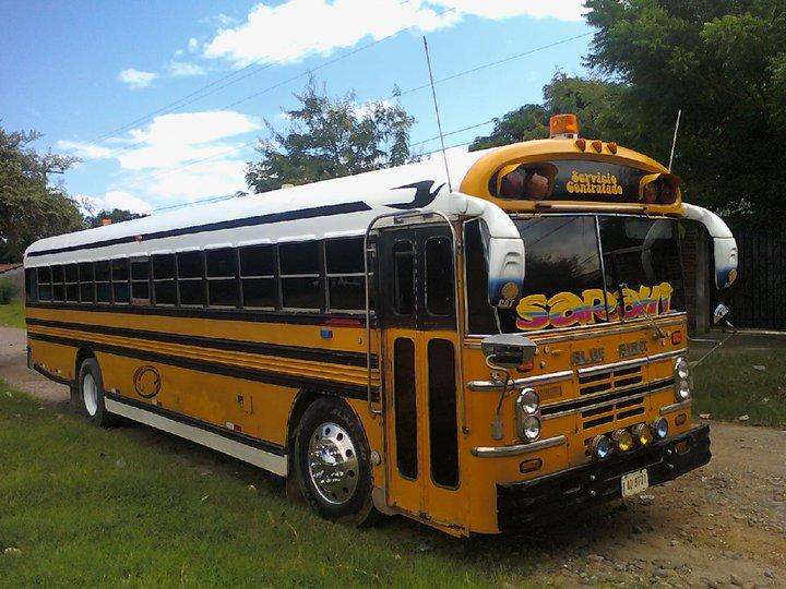 ninguna relacion con el perfil de facebook llamado buses de honduras