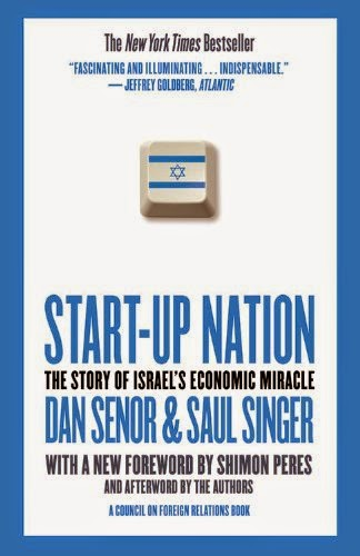 cover of Start-up Nation: the Story of Israel's Economic Miracle