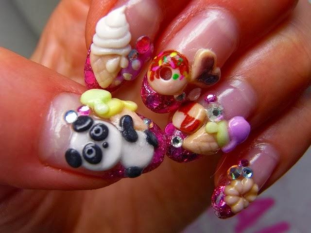 Excellent Nail Designs 3d