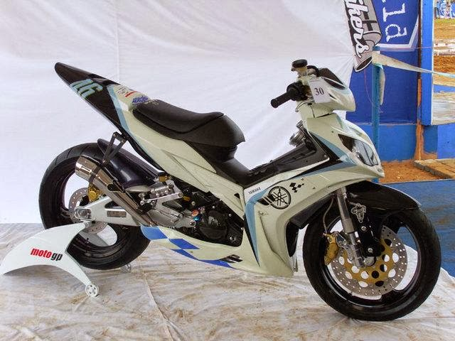 modifikasi motor jupiter mx 2013