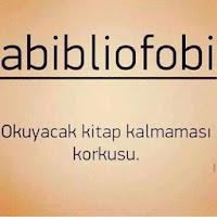 Abibliofobi :)