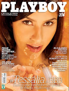 Tessalia ex bbb Playboy