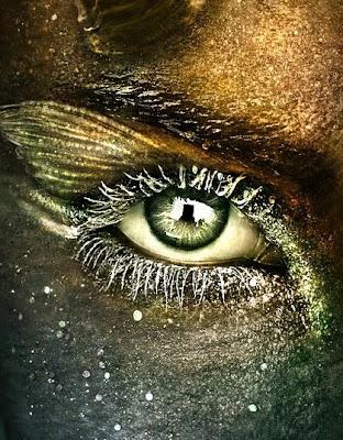 signo capricornio en ojo