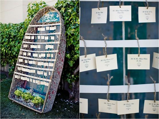 Greer Loves Nautical Wedding Ideas Decor Escort Cards Favors