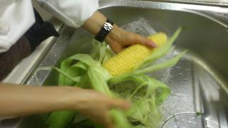 出張シェフ:トウモロコシのポタージュ