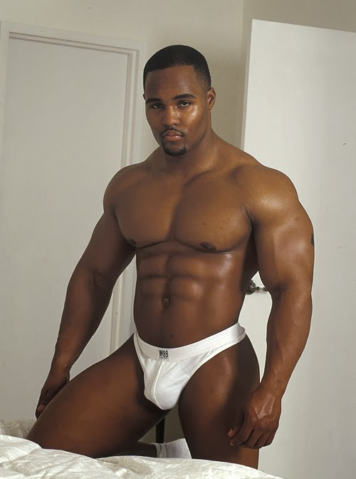More Hot black muscle men
