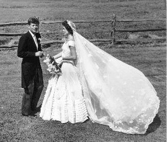 Jackie Kennedy Wedding Dress On Display