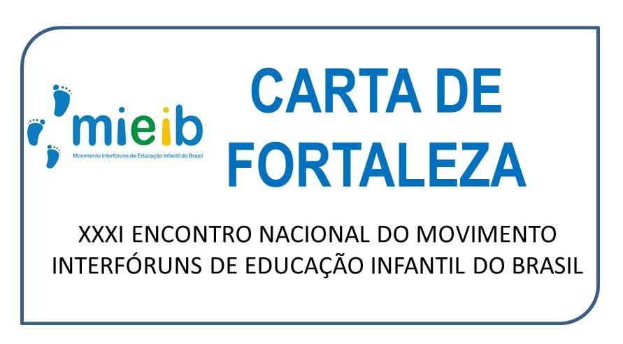 Carta de Fortaleza/2015