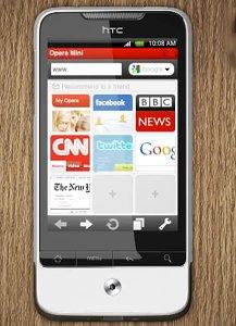 Opera Mini 5.1 Tersedia di Android Market