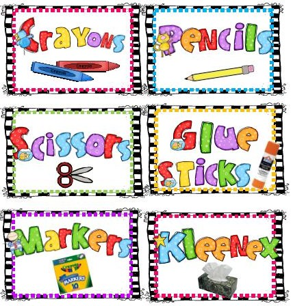 First grade fever by christie more spelling word fun for Room labels