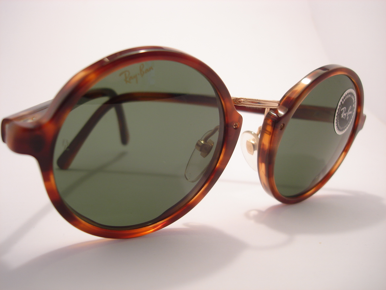 ray ban sunglasses made in usa  theothersideofthepillow: vintage RAY BAN by BAUSCH \u0026 LOMB round ...