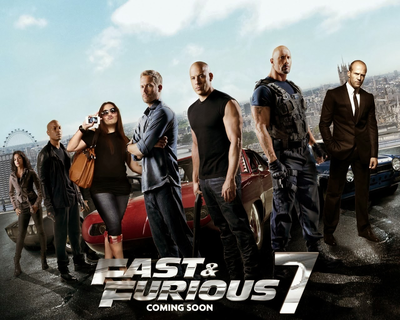 Fast and Furious 7 Posters