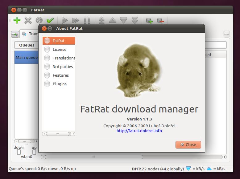 FatRat: Download manager kaya fitur untuk Linux