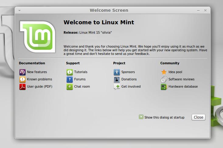 установка линукс минт