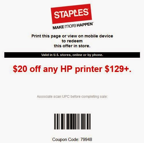 Coupons for staples uk
