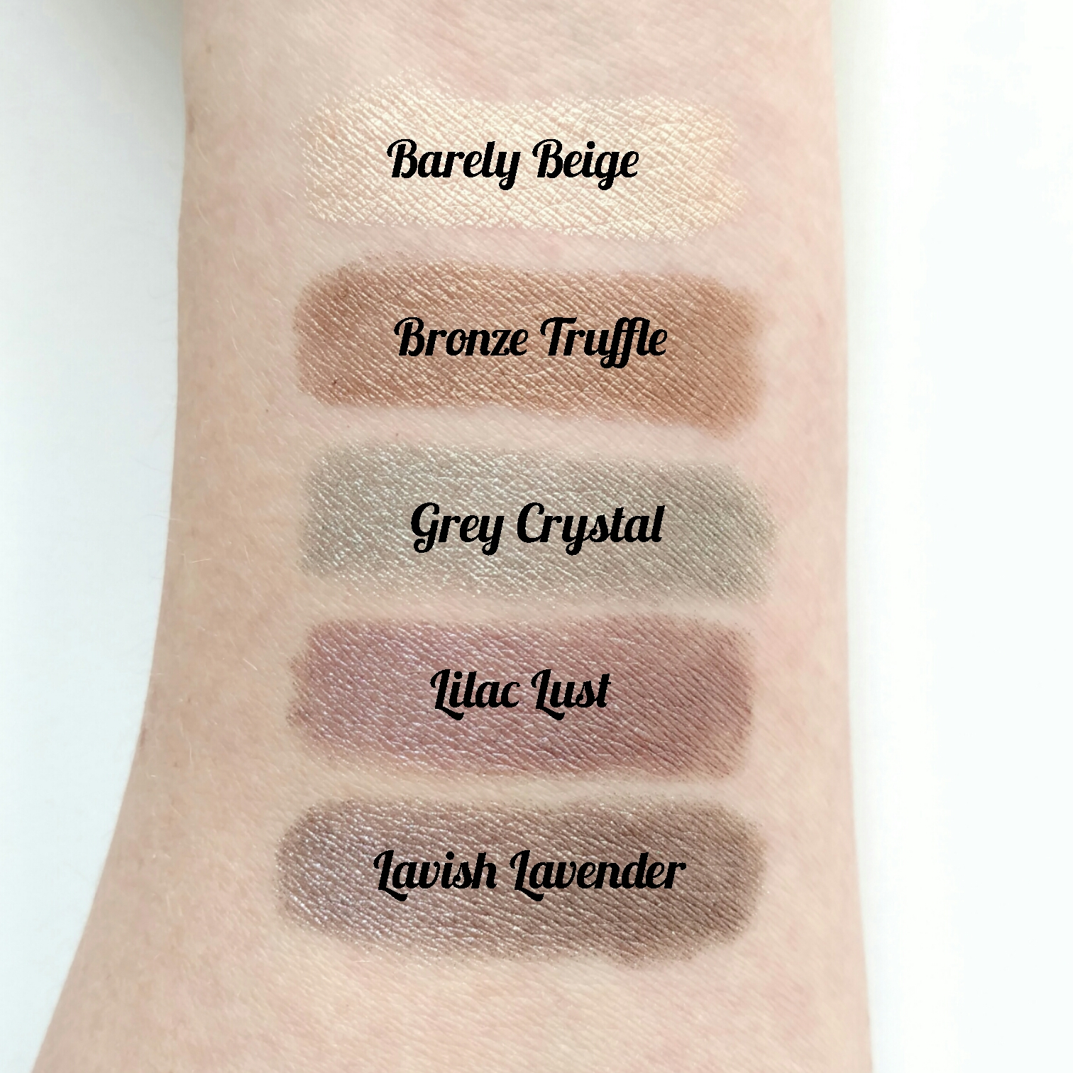 Maybelline Color Tattoo Concentrated Crayon Swatches