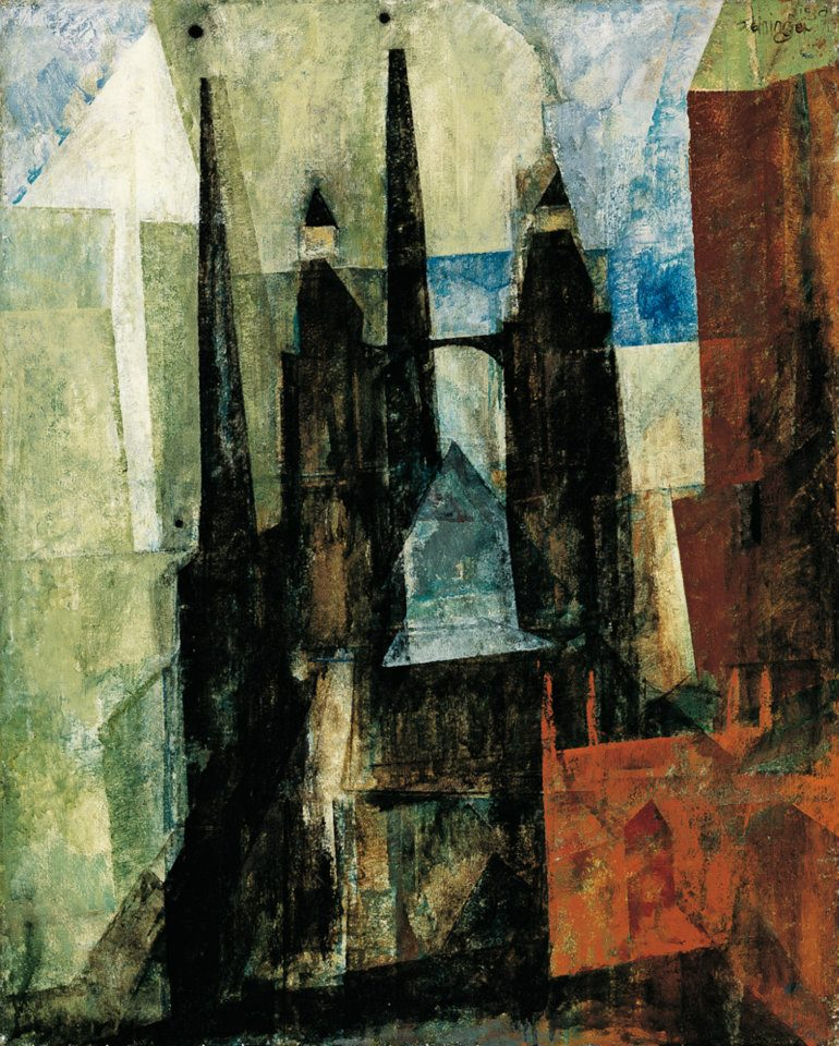 Lyonel Feininger 1871-1956 | American-born German Cubist/Expressionist painter