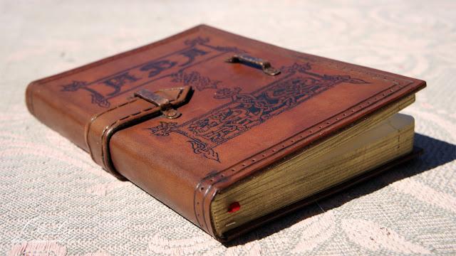 записная книжка в кожаном переплете книги андрея панченко oleloo