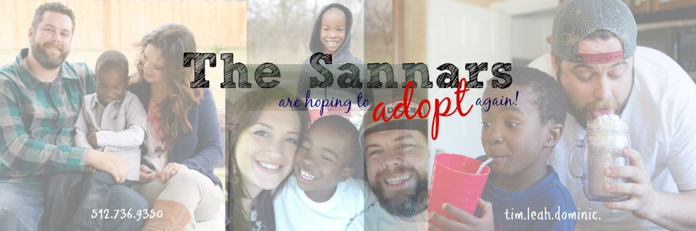 The Sannars Adopt