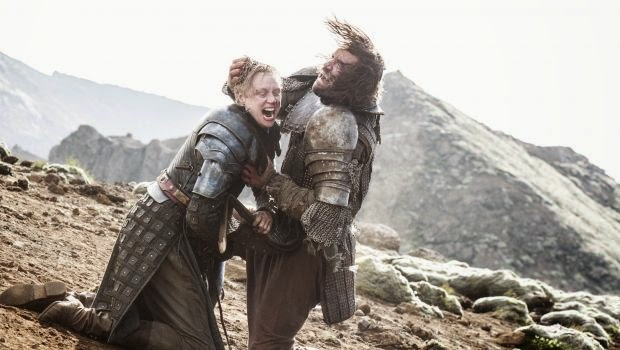 Brienne y El Perro Game of Thrones 4x10