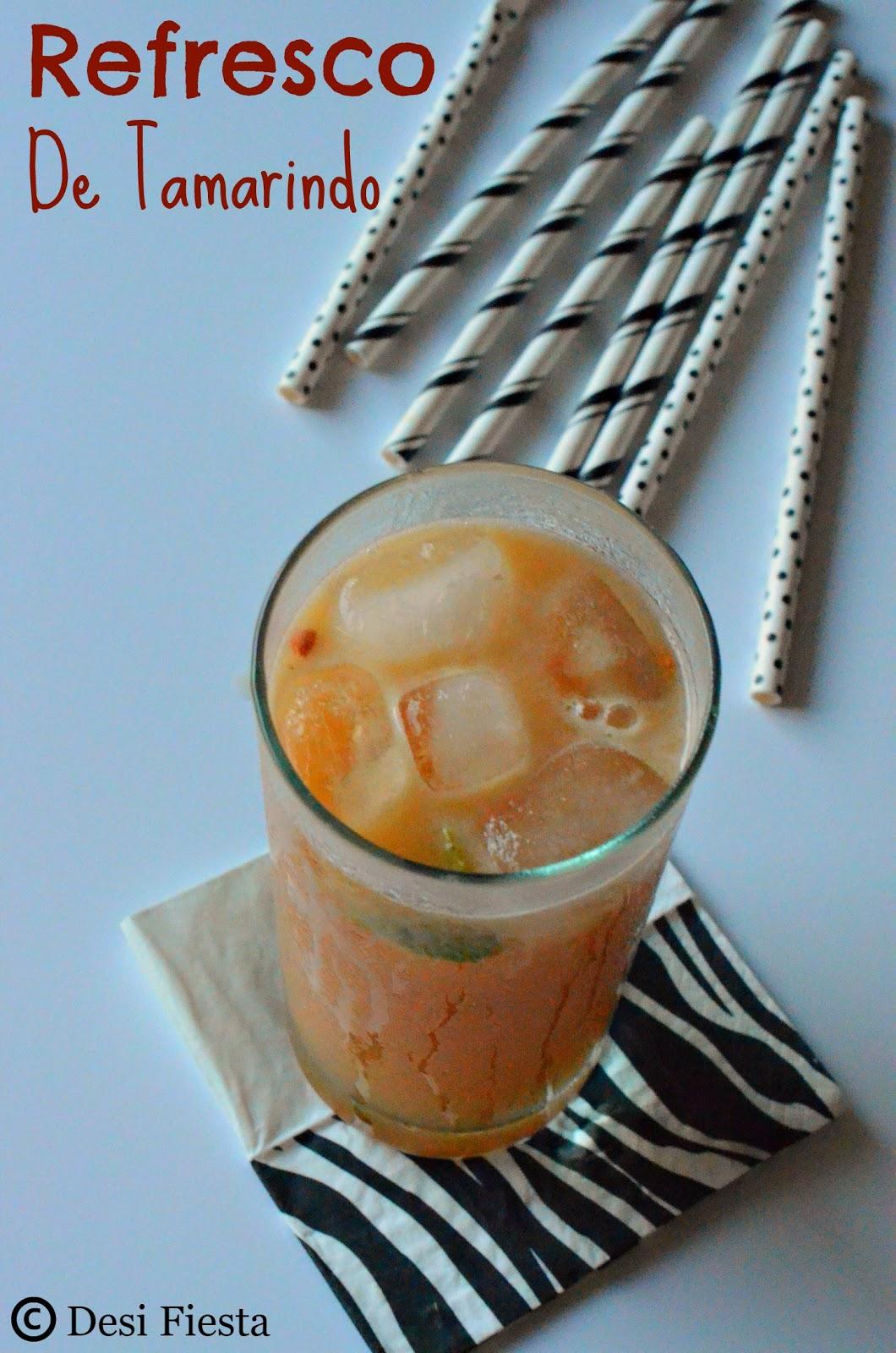 Puerto rican Tamarind juice
