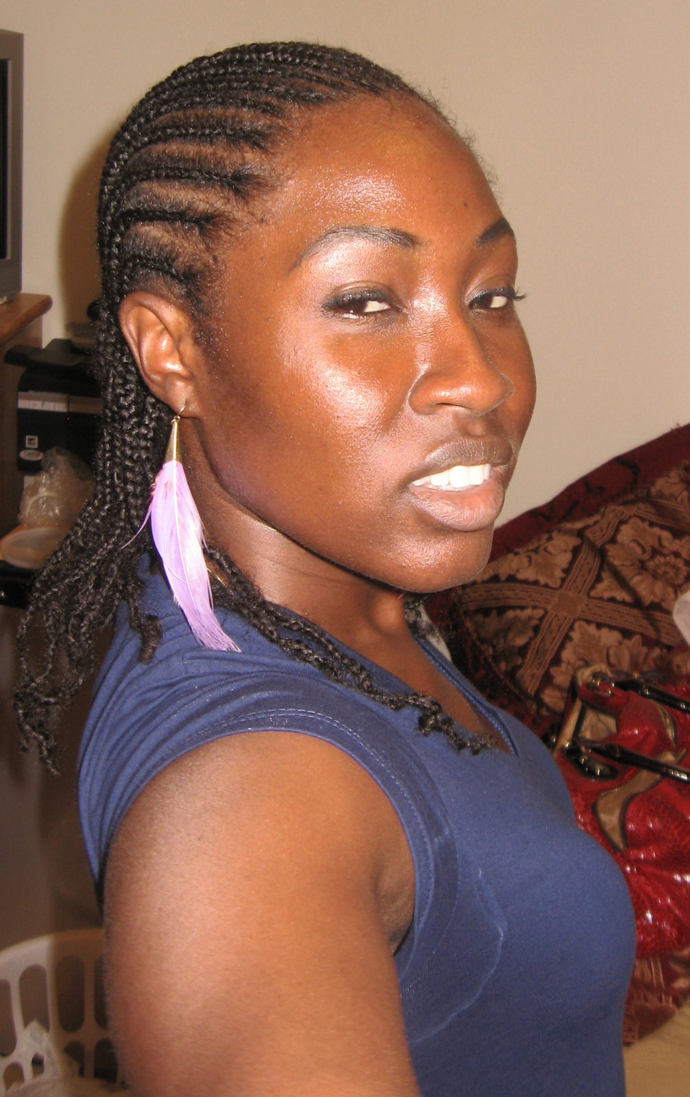 Displaying 20> Images For - Jumbo Cornrow Hairstyles...