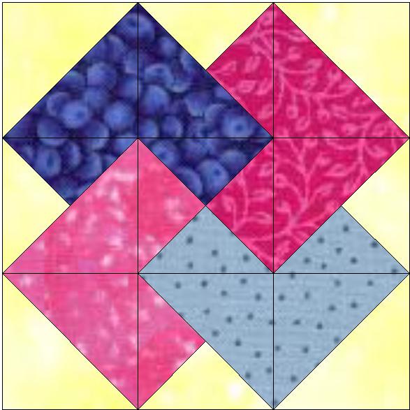 Patchwork en casa patchwork with love junio 2011 - Patchwork para principiantes patrones ...