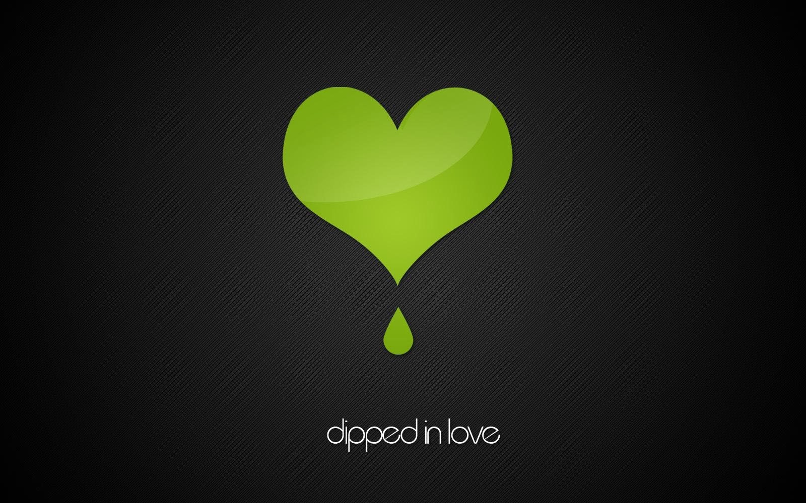 green hearts background - photo #16
