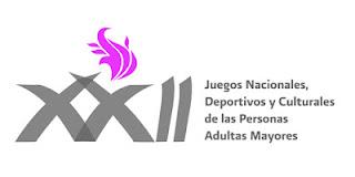 Logo Juegos Nacionales Deportivos y Culturales adultos mayores