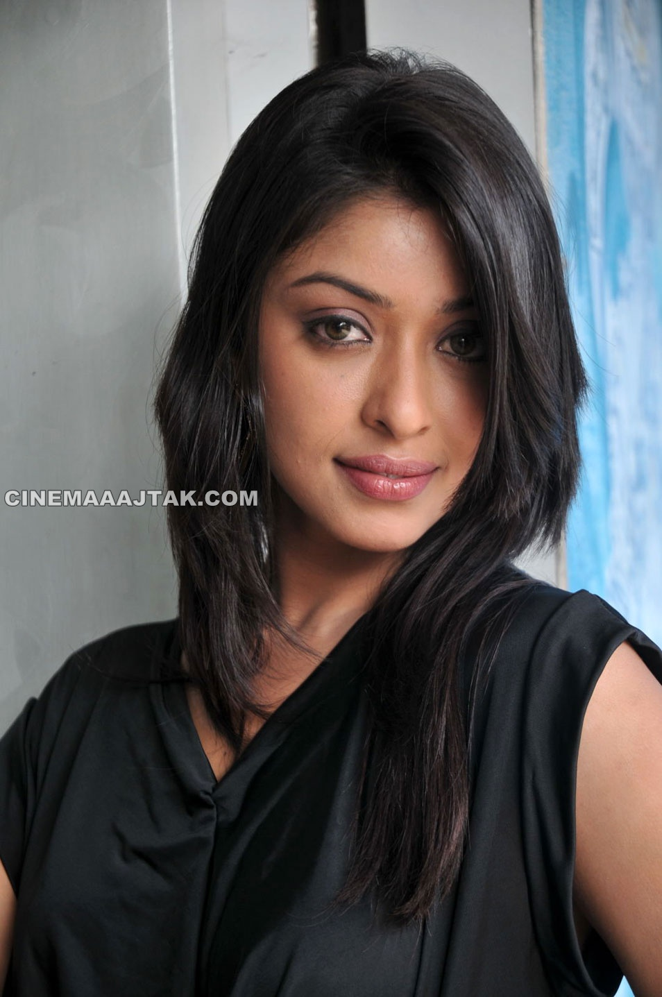 , Payal Ghosh Hot Photoshoot In Black Dress