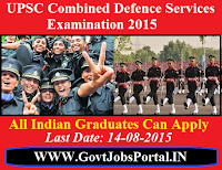 UPSC CDS II EXAM 2015
