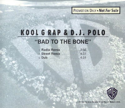 Kool G Rap & DJ Polo – Bad To The Bone (CDS) (1990) (320 kbps)