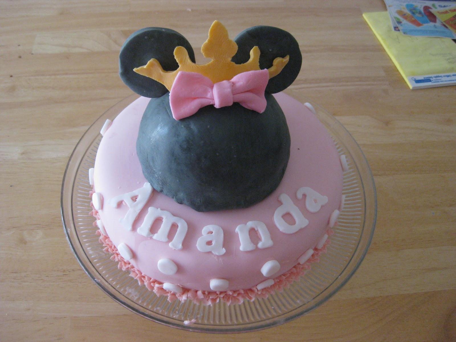 Heaven scent creations princess minnie mouse cake - Princesse minnie ...