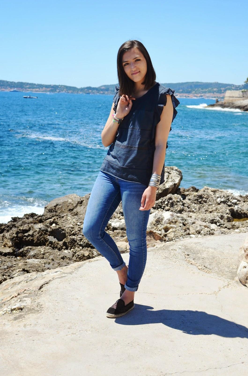 Espadrilles plumetis Zara