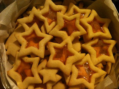Shimmering Star Christmas Cookies