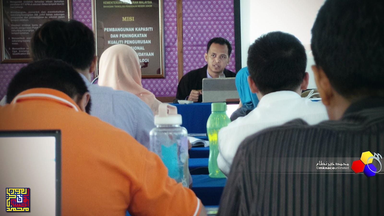 Edisi terlepas Kursus Guru Data dan Maklumat baharu negeri Johor