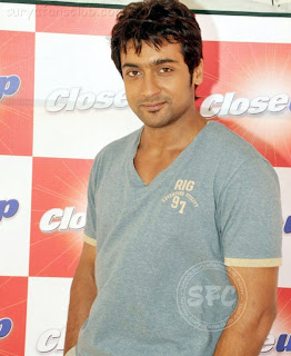 surya at closeup show