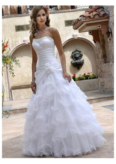 African pearl bridal what s old is new the all white wedding for White african wedding dress