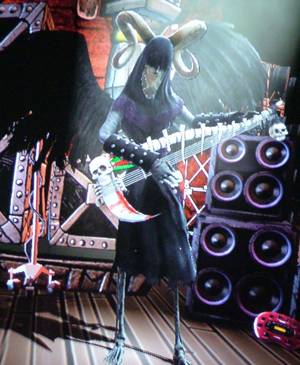Guitar Hero 2 Grim Reaper