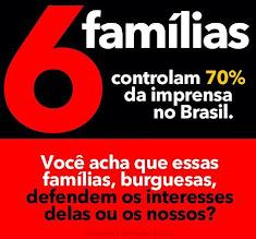 """""""Seis famílias controlam 70% da imprensa no Brasil"""", diz Julian Assange"""