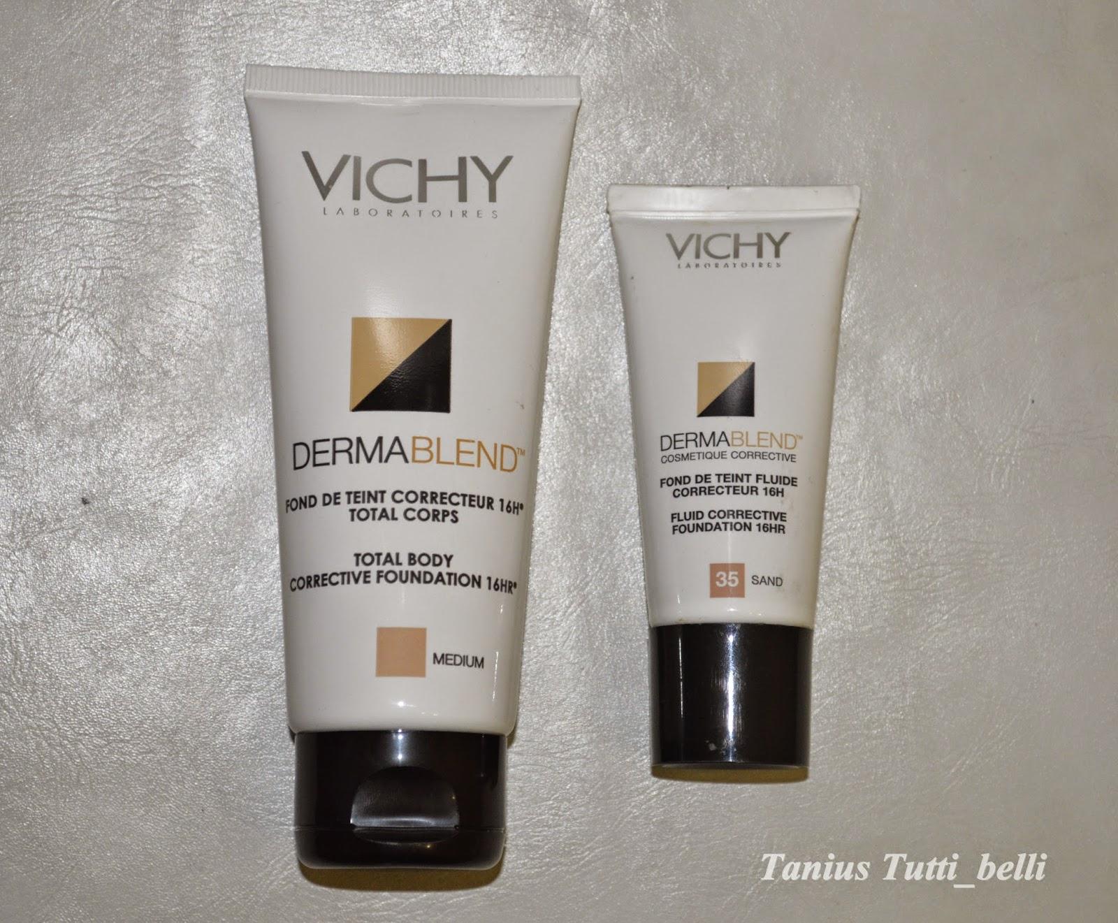 maquillaje corporal vichy