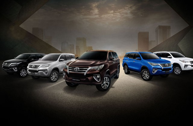 All New Toyota Fortuner 2015