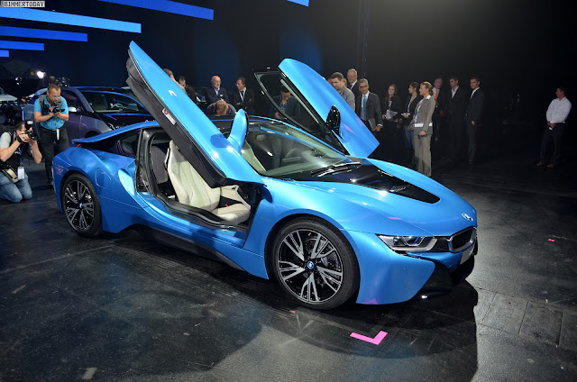 BMW I8 With LED Headlights