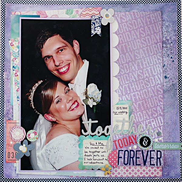 Mixed Media | Wedding | Scrapbooking ideas