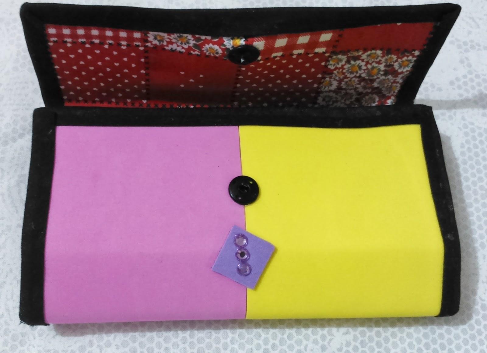 Bolsa e carteira feita de caixa de leite : Bolsa carteira feita de caixa leite