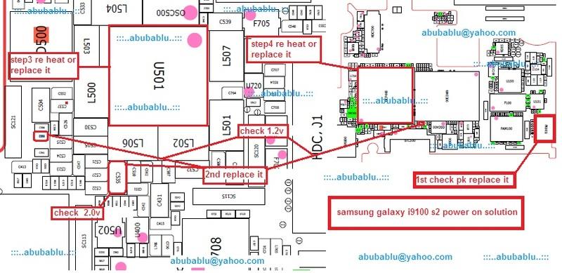 Samsung Galaxy I9100 S2 Power On Solution