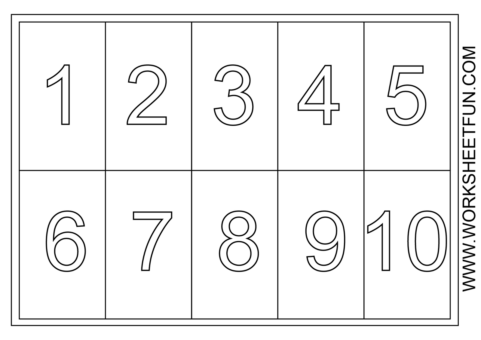This is a photo of Exceptional Large Printable Numbers
