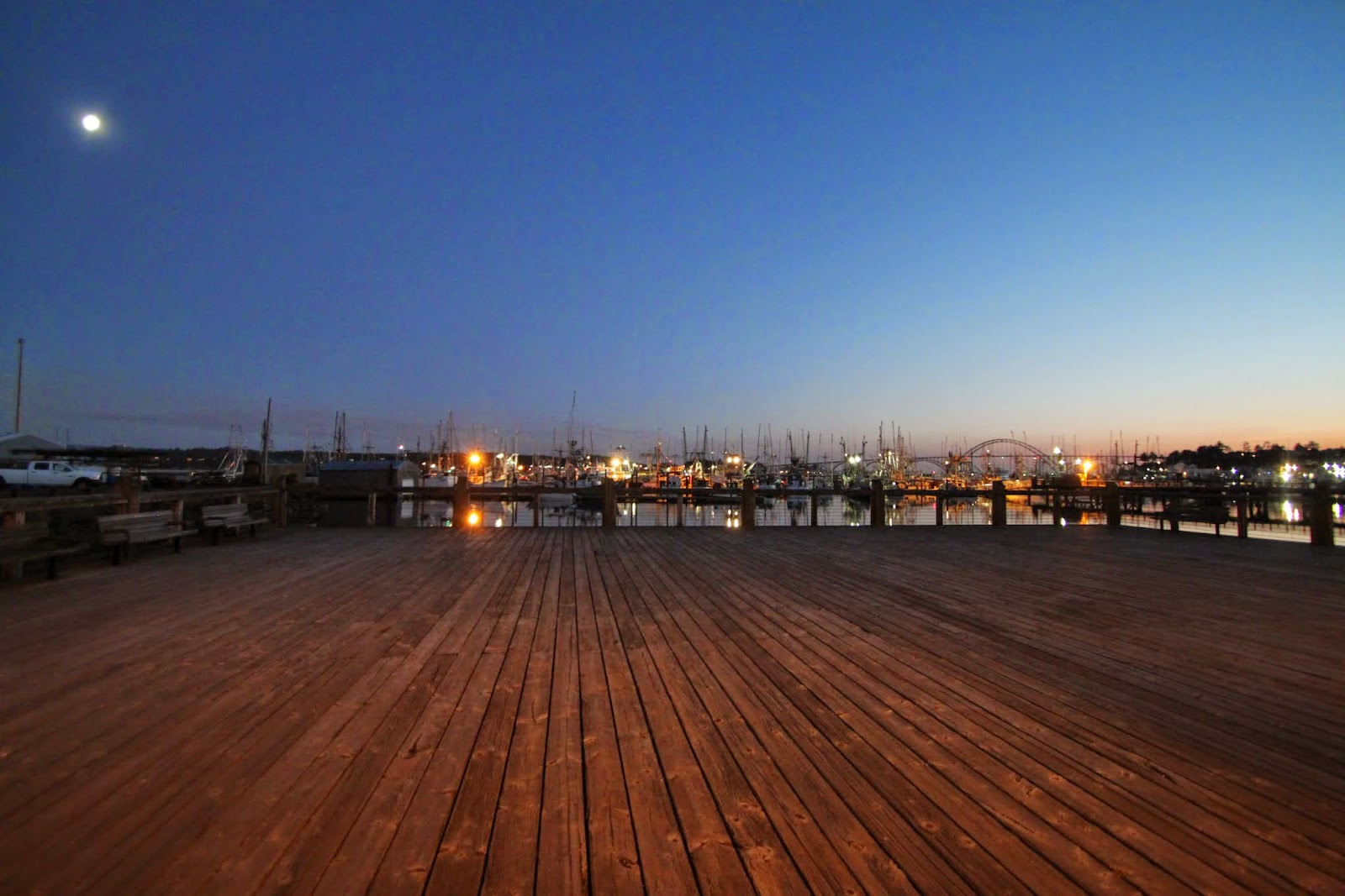 Historic Newport Bayfront boardwalk