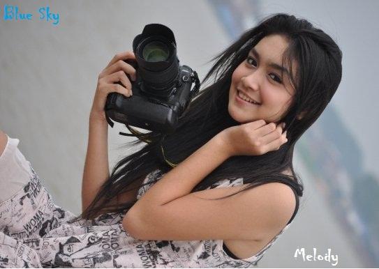 Foto dan Biodata Melody Prima Ananda Divia - Si Biang Kerok